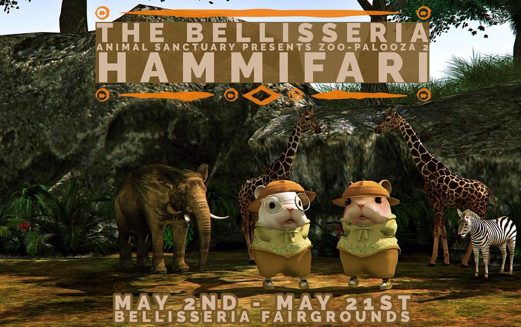 The Bellisseria Animal Sanctuary: Zoo-Palooza 2 Hammifari