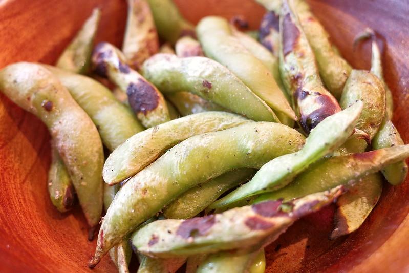 炭焼き枝豆