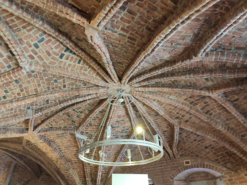 Великий Новгород - Новгородский кремль (Детинец) - Потолок Грановитой палаты