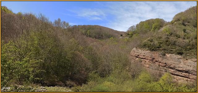 Paisaje en Castroviejo (La Rioja, España, 24-4-2021)