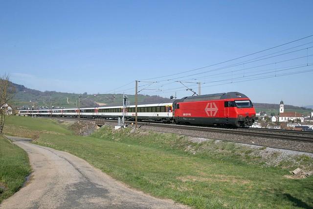 SBB Re 460 058 Frick