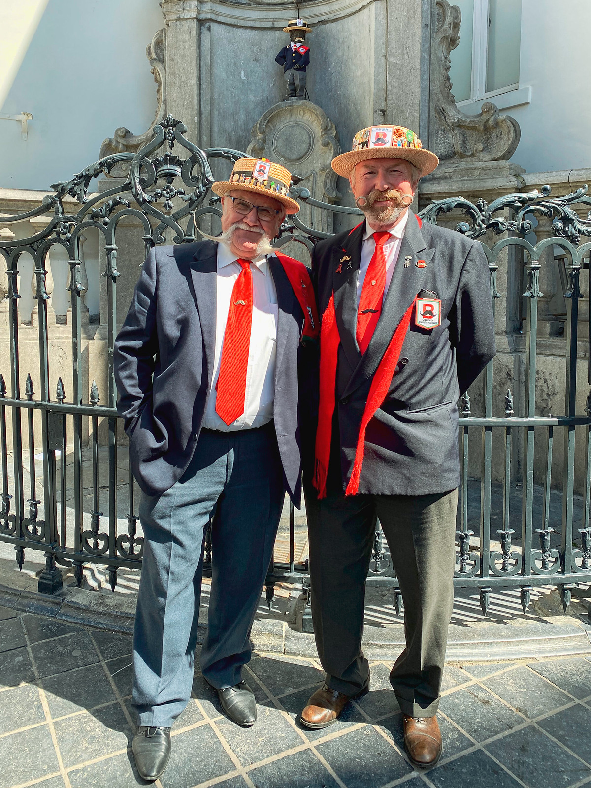 The Men of the Order of the Brussels Moustache