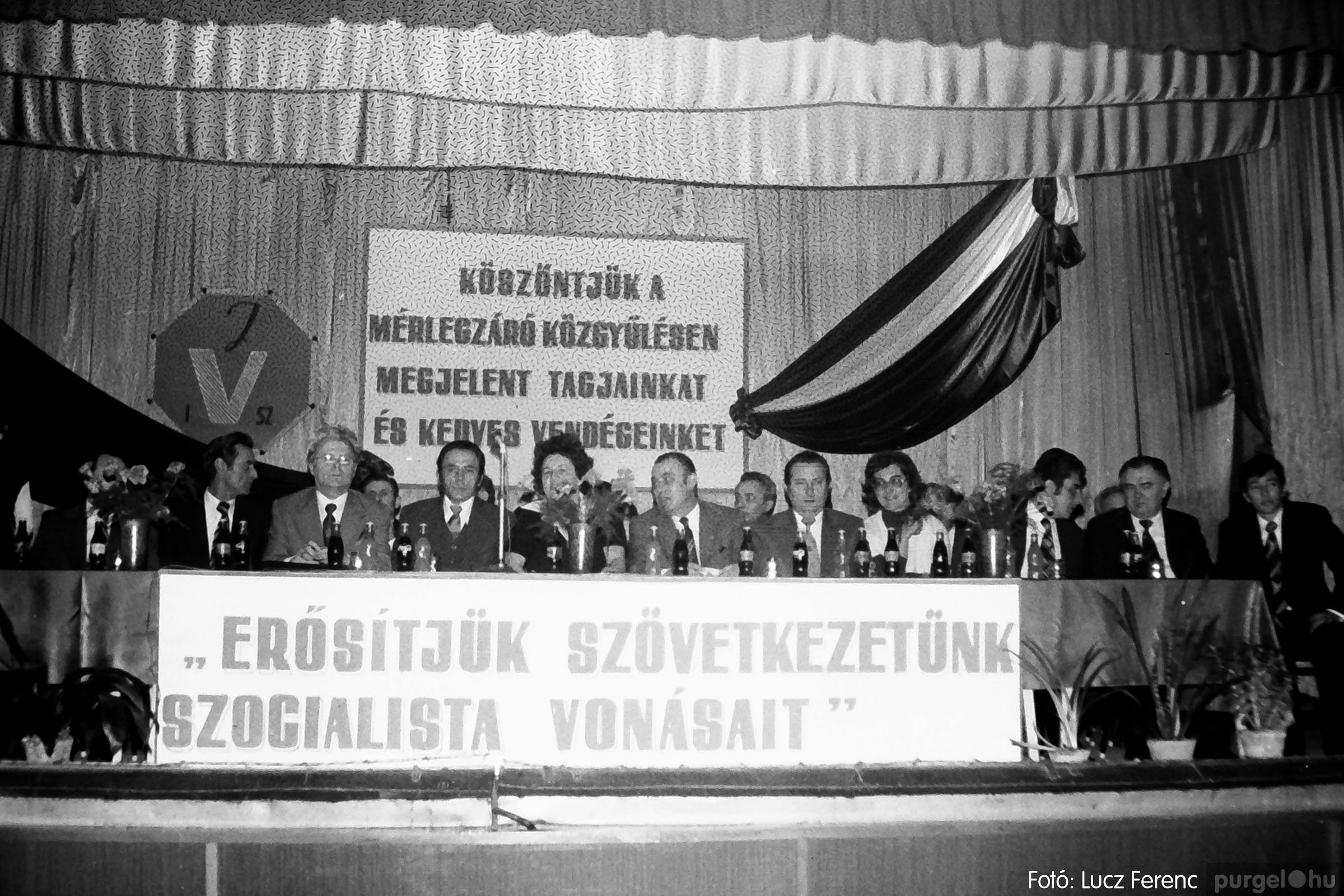 107. 1978. A KTSZ mérlegzáró közgyűlése 015. - Fotó: Lucz Ferenc.jpg