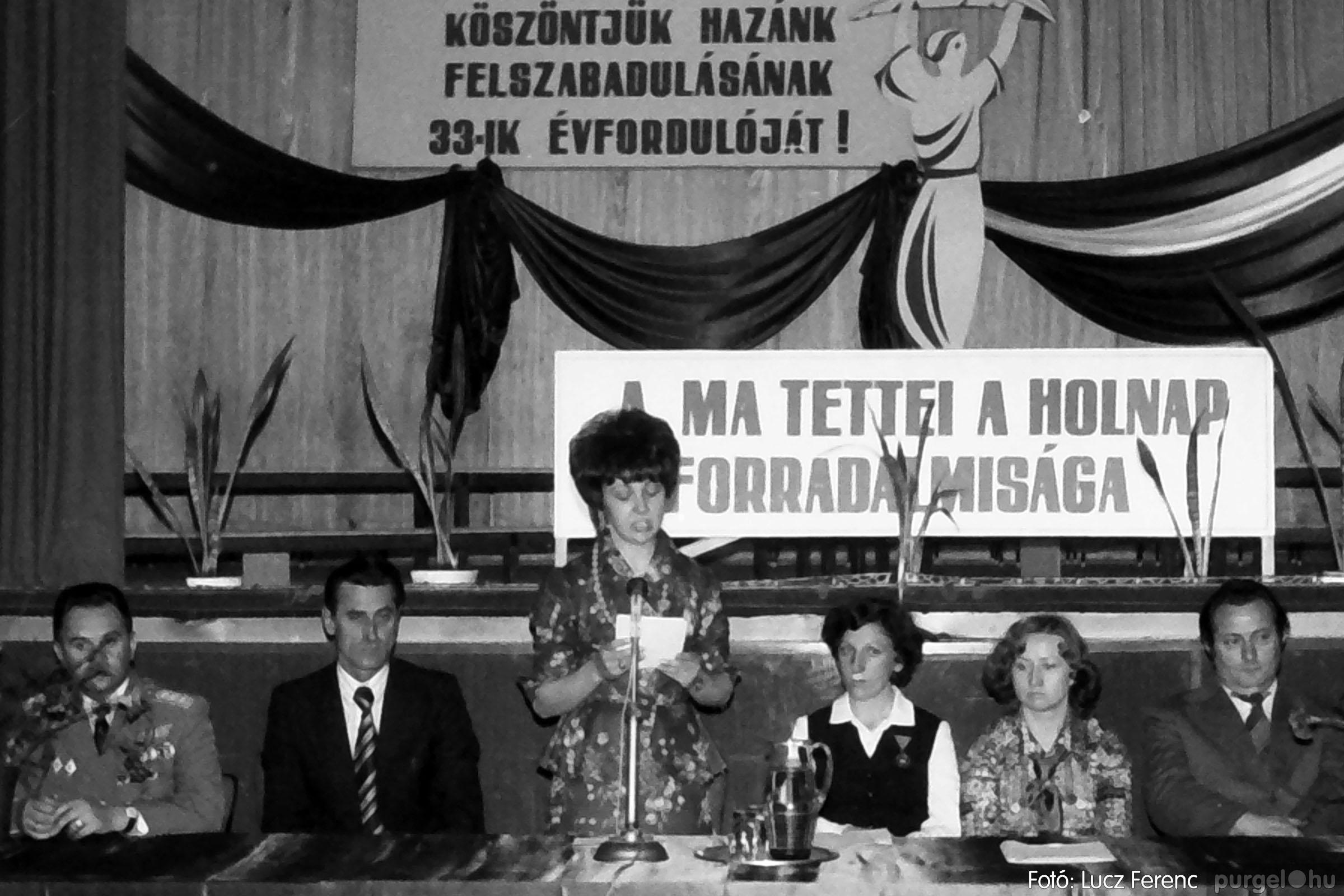 109. 1978. Április 4-i ünnepségek 025. - Fotó: Lucz Ferenc.jpg