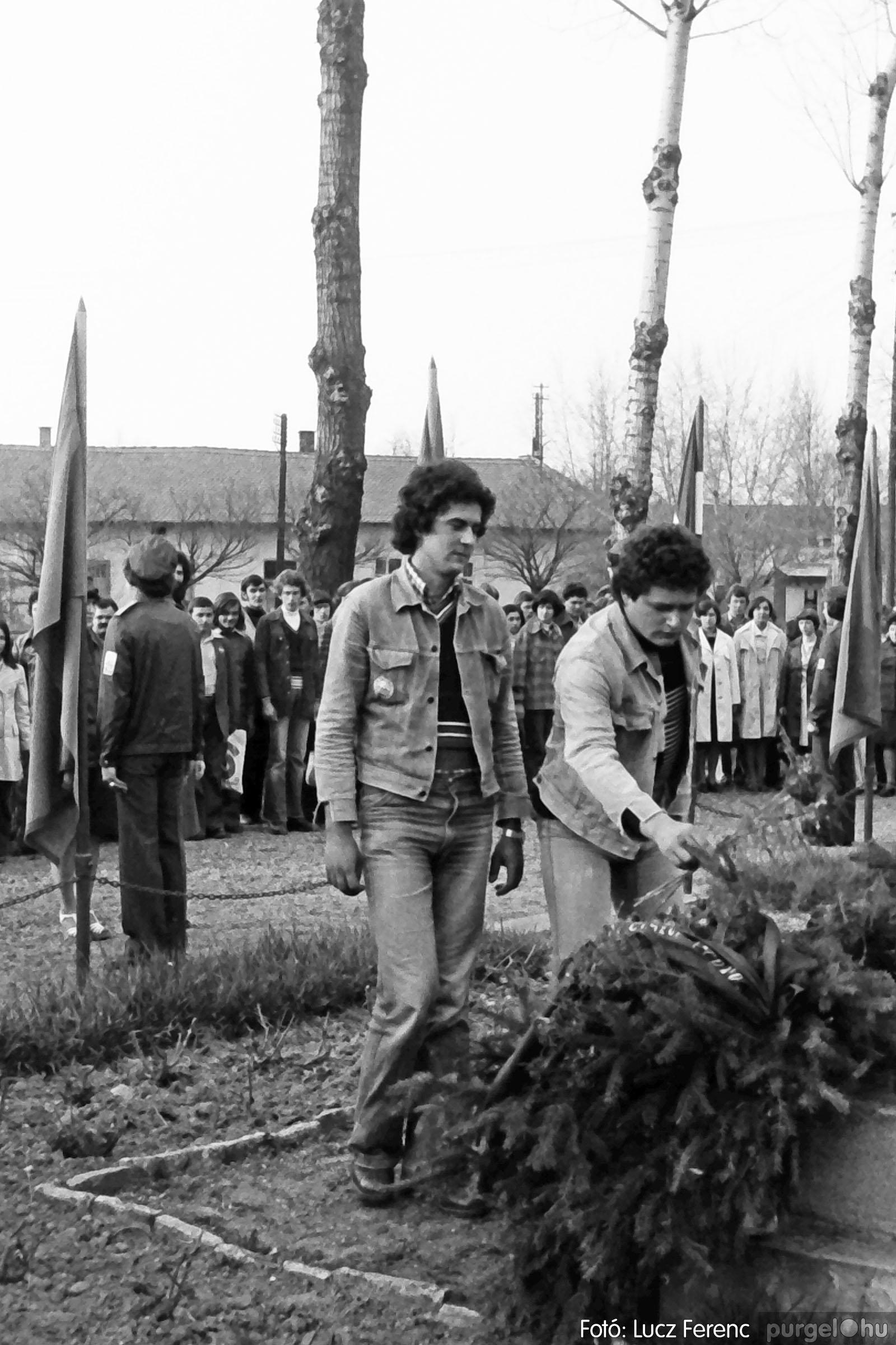 109. 1978. Április 4-i ünnepségek 017. - Fotó: Lucz Ferenc.jpg