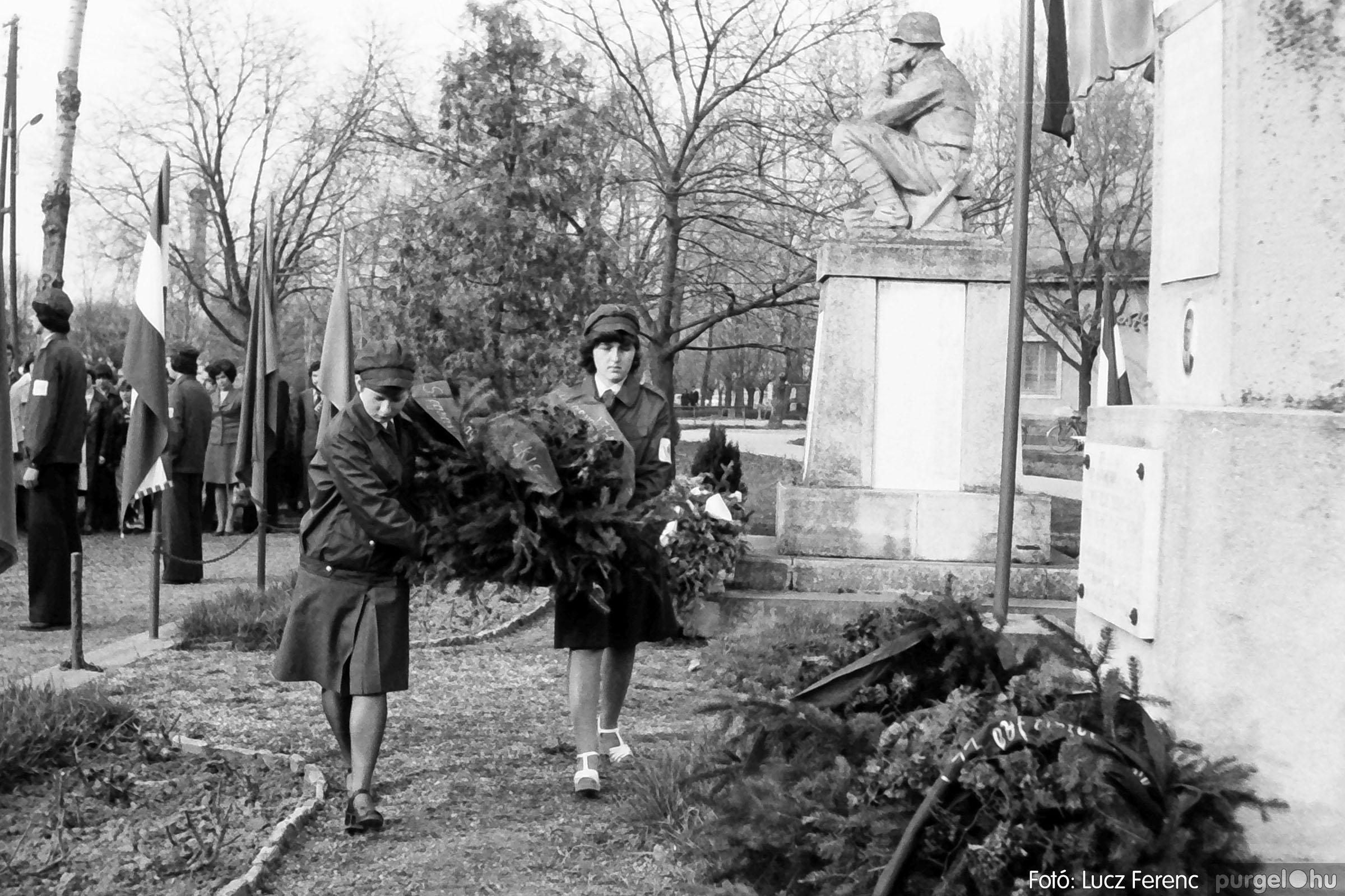 109. 1978. Április 4-i ünnepségek 012. - Fotó: Lucz Ferenc.jpg