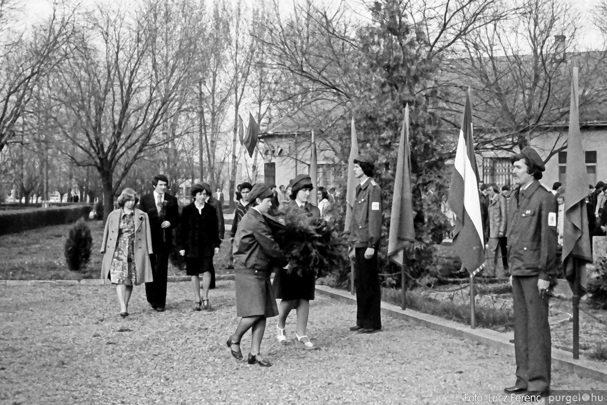 109. 1978. Április 4-i ünnepségek 010. - Fotó: Lucz Ferenc.jpg