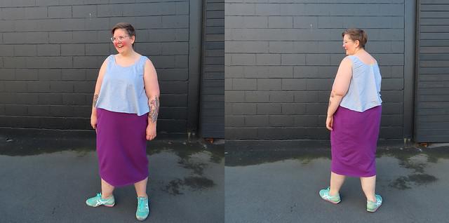 Luna Tank Elemental Skirt