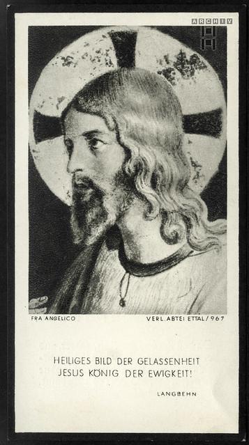 ArchivTappen233A558 Sterbebild (back), Anton Taubenberger, WWII 1943