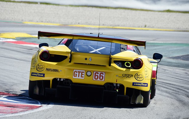 Ferrari F488 GTE EVO / Jody Fannin  / GBR / Andrea Fontana / ITA / Rodrigo Sales  / USA / JMW MOTORSPORT