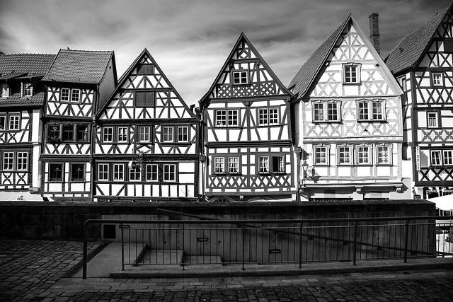 Fachwerkhäuser / Half-timbered houses