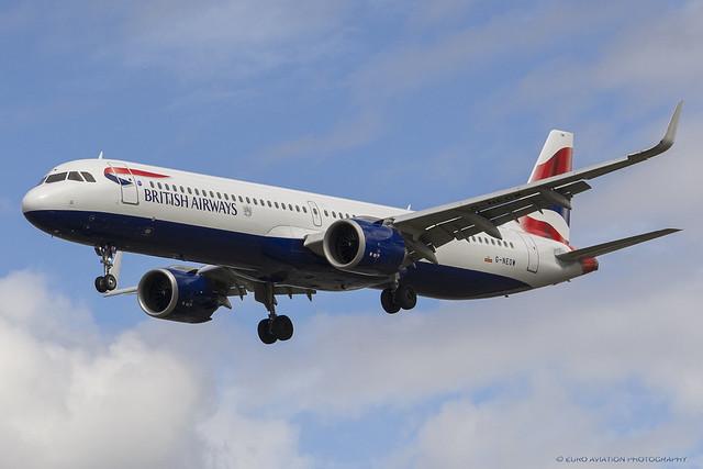 G-NEOW British Airways