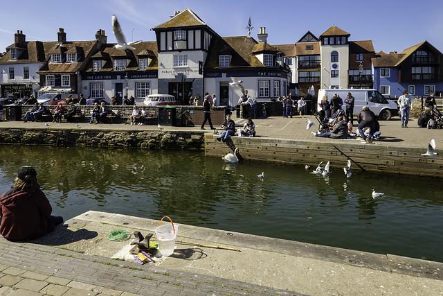 Lymington Quay Side