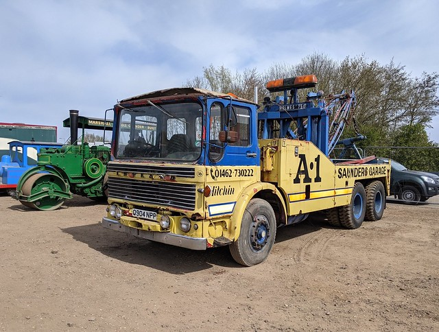 Leyland AEC 6x4 Recovery  - Saunders of Hitchin - Q904 NPP