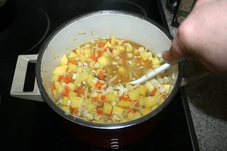 23 - Stir & bring to a boil / Verrühren & aufkochen lassen