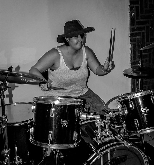 People on the Drums!