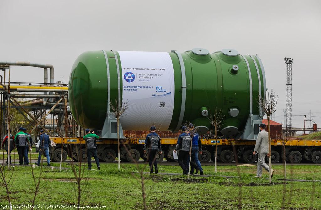 Как Атоммаш отправлял ценный груз на АЭС «Руппур» 999A9403
