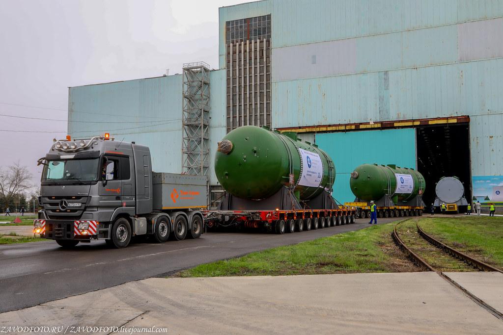 Как Атоммаш отправлял ценный груз на АЭС «Руппур» 999A9208
