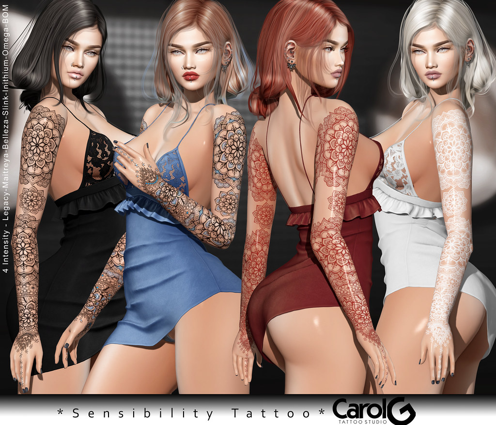Sensibility TaTToo [CAROL G] Exclusive Uber Event