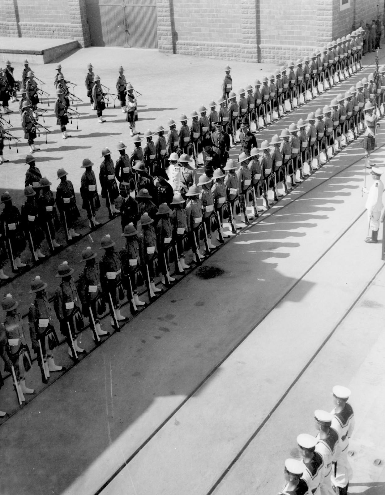 1933. Хайфа. Церемония открытия порта