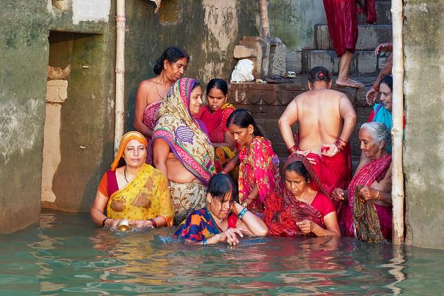 Prières au Gange..2017