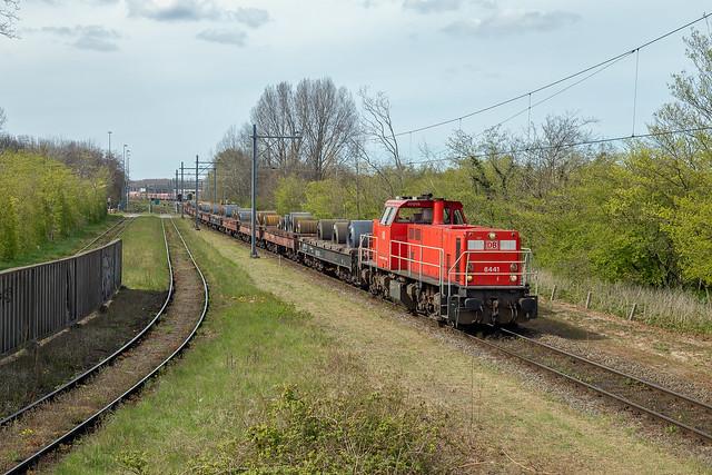 24-04-2021, DBC 6441 + staalrollen