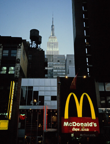 McDonald's and Empire State Building