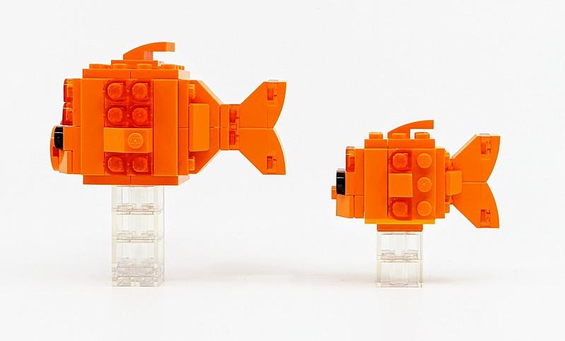 LEGO BrickHeadz Pets Goldfish