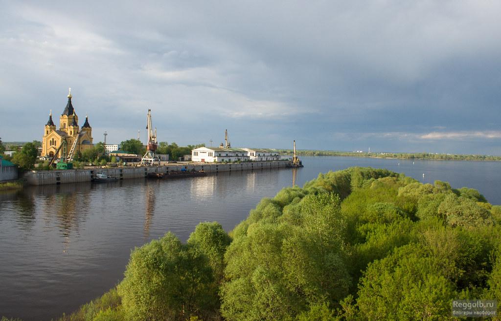 Канавинский мост Нижний Новгород