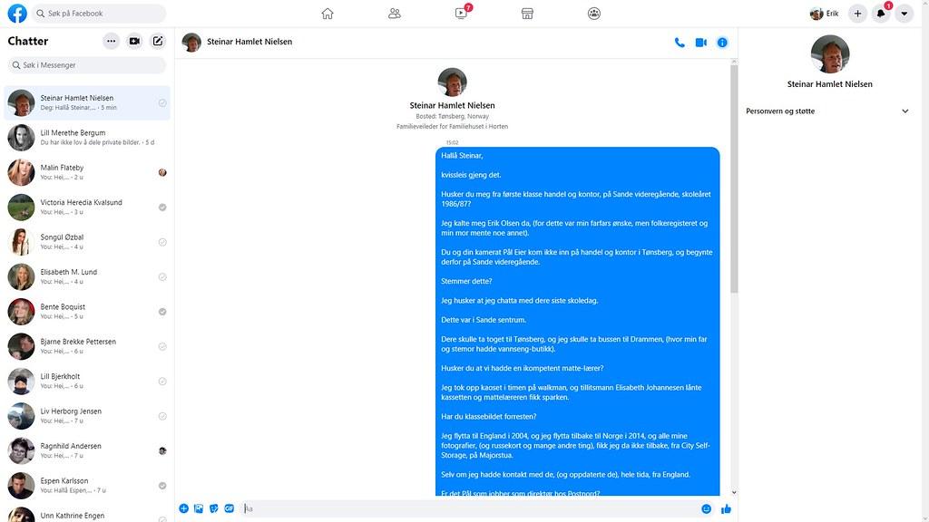 steinar nielsen facebook 2