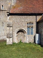 blocked Norman south doorway