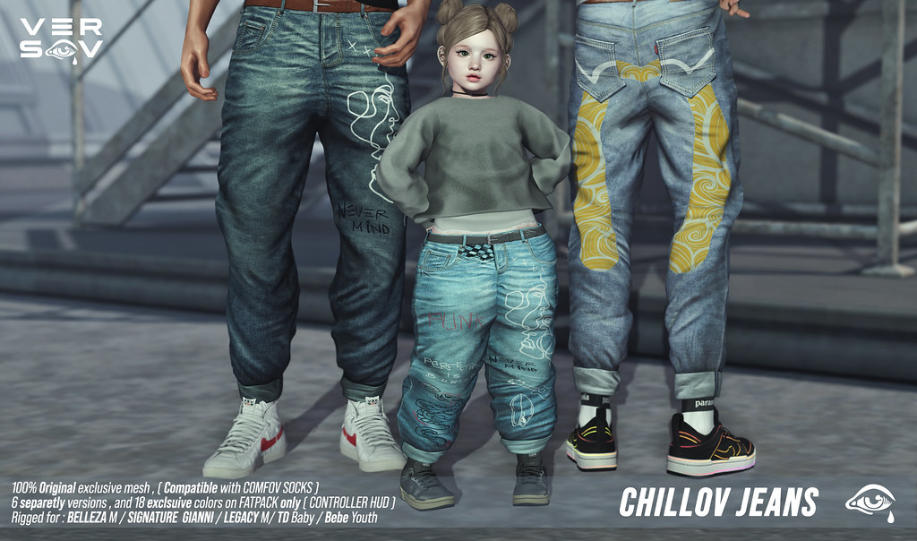 [ Versov // ]  CHILLOV JEANS available at UBER event !