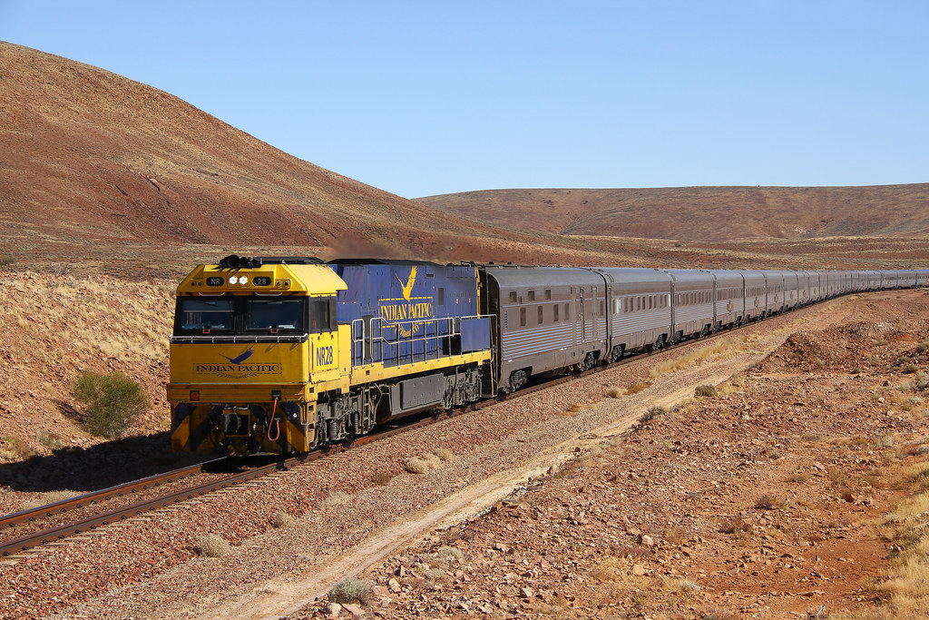 Returned Indian Pacific by David Arnold