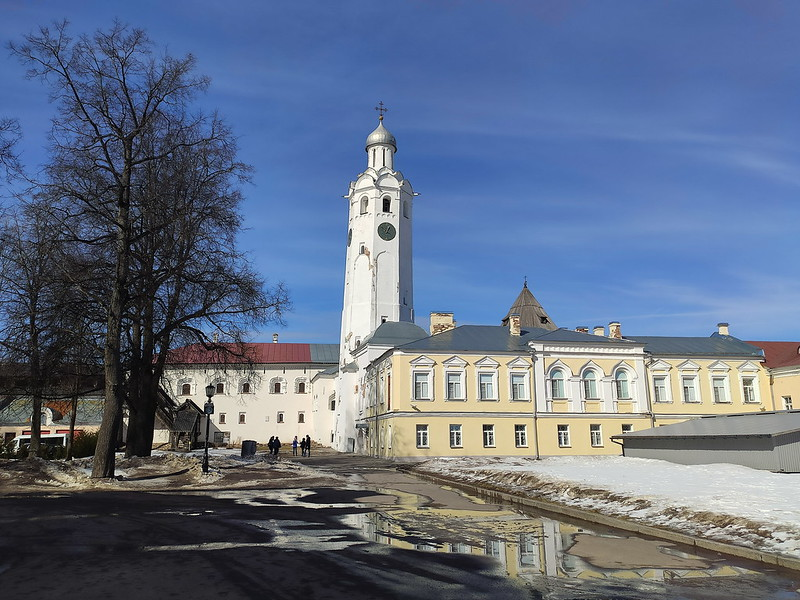 Великий Новгород - Новгородский кремль (Детинец) - Часозвоня