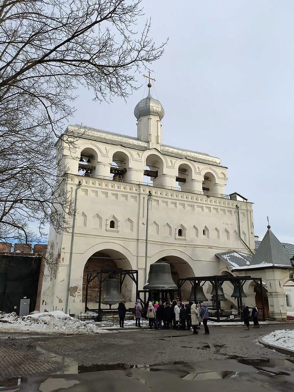 Великий Новгород - Новгородский кремль (Детинец) - Звонница