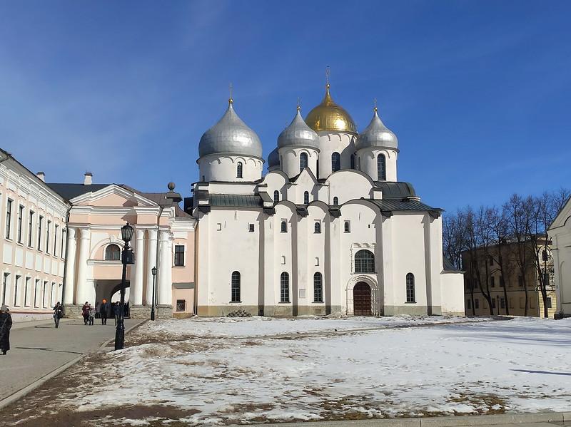 Великий Новгород - Новгородский кремль (Детинец) - Софийский собор