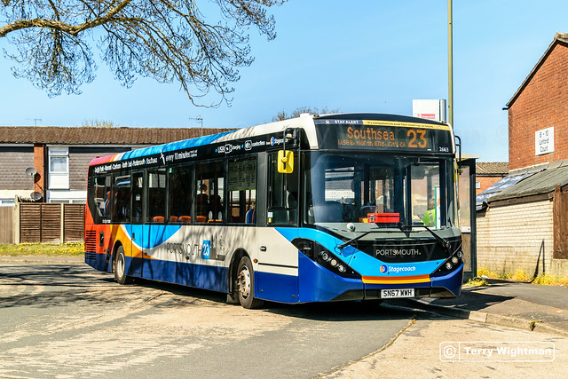 Stagecoach South 26163 SN67WWH