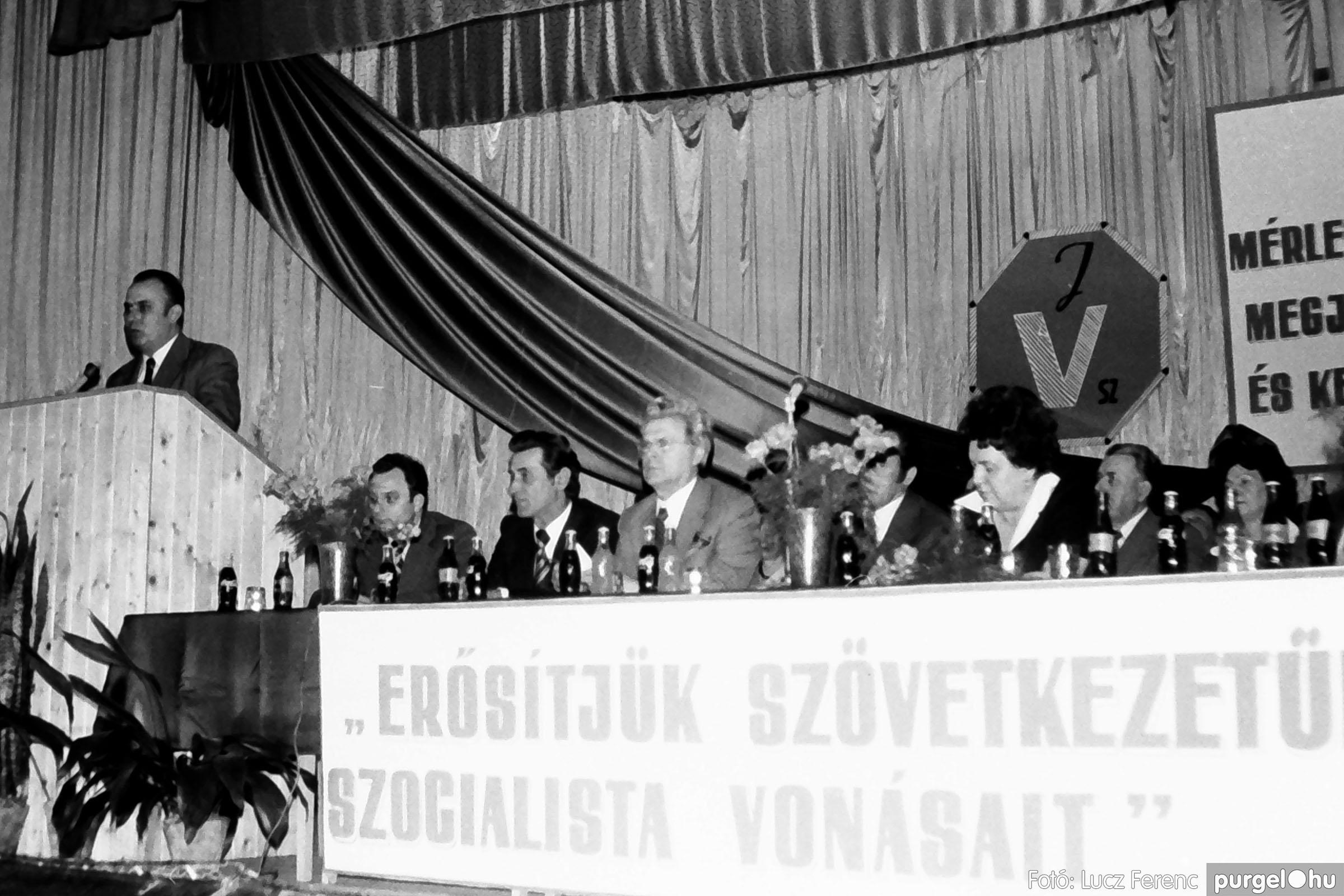 107. 1978. A KTSZ mérlegzáró közgyűlése 030. - Fotó: Lucz Ferenc.jpg