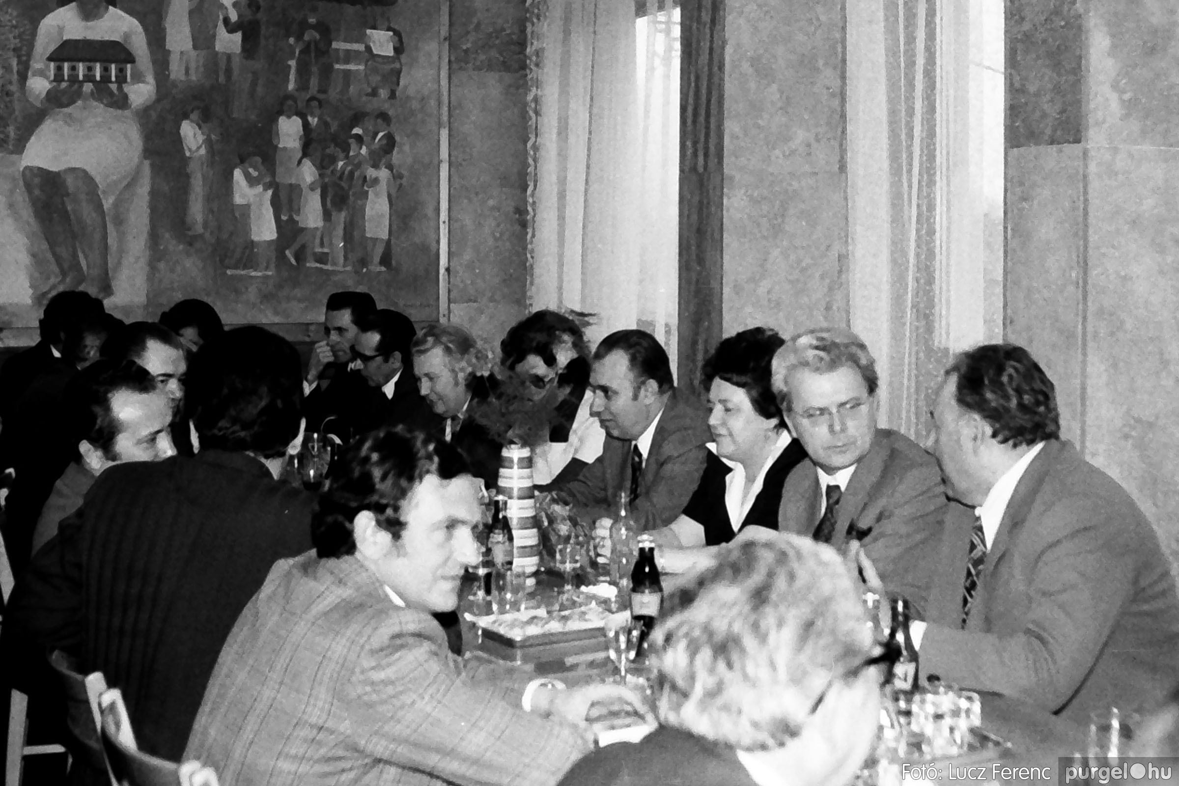 107. 1978. A KTSZ mérlegzáró közgyűlése 010. - Fotó: Lucz Ferenc.jpg