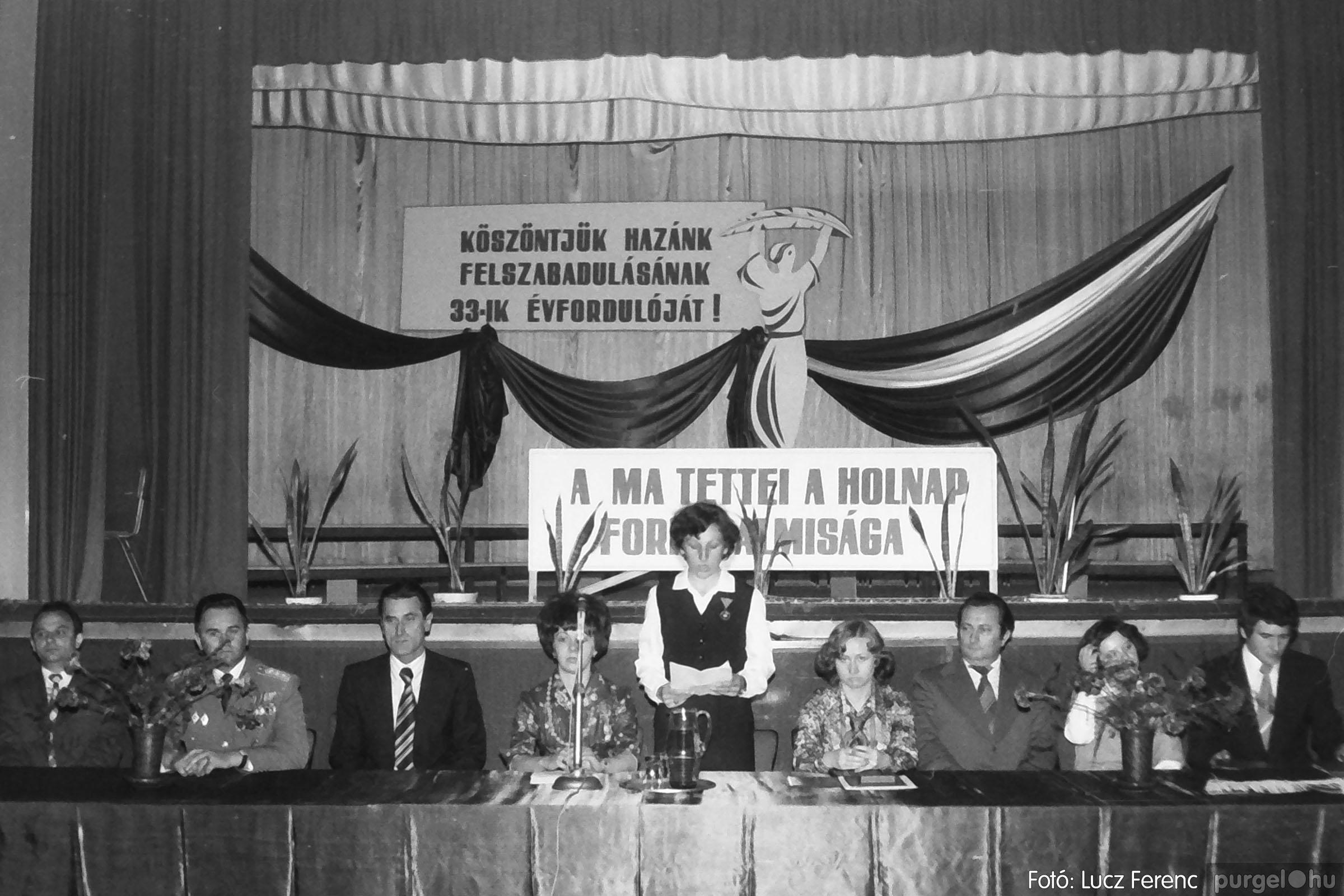 109. 1978. Április 4-i ünnepségek 023. - Fotó: Lucz Ferenc.jpg