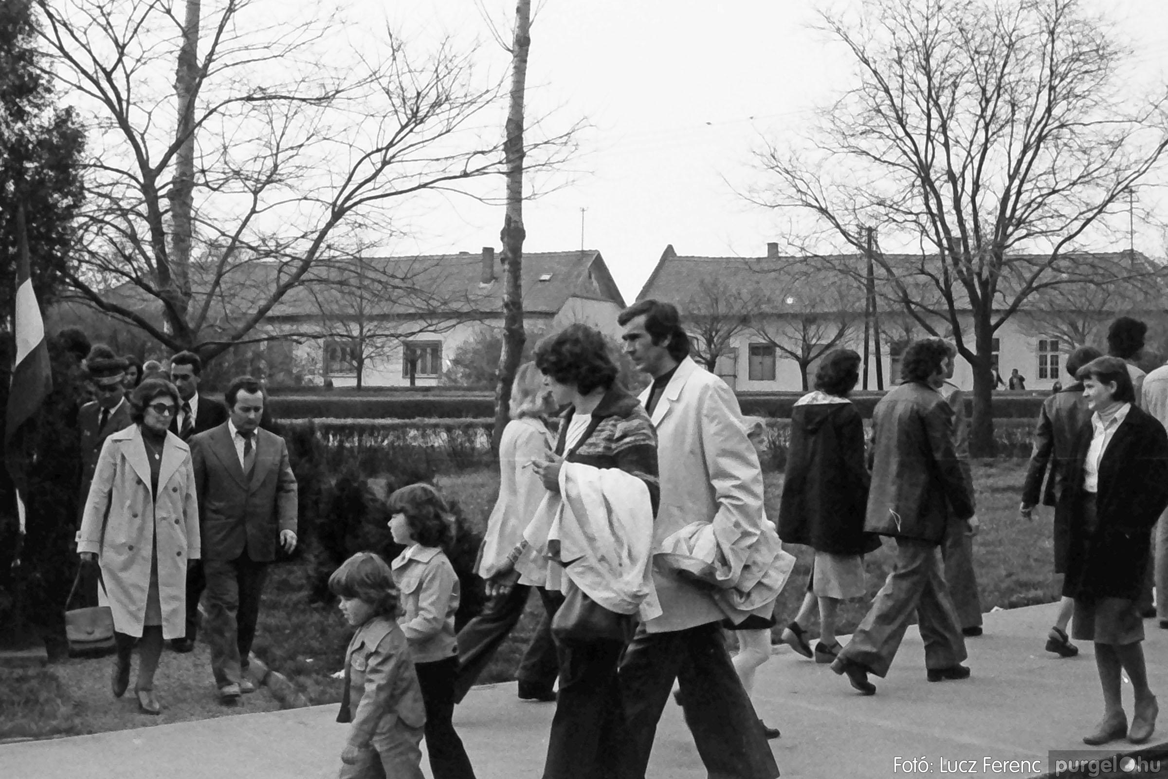 109. 1978. Április 4-i ünnepségek 021. - Fotó: Lucz Ferenc.jpg