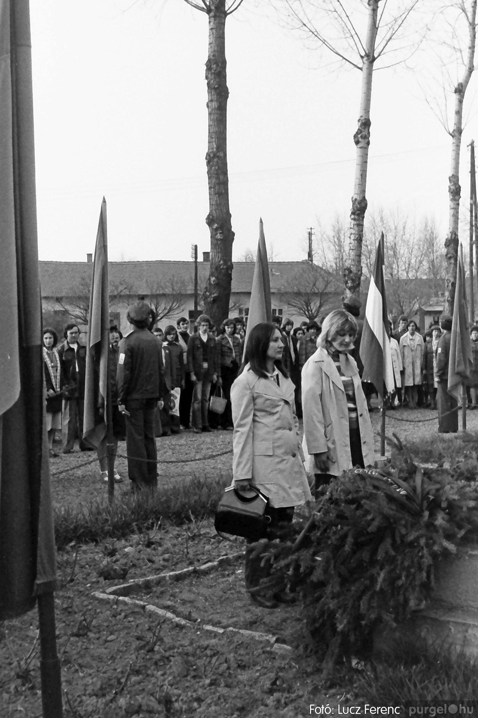 109. 1978. Április 4-i ünnepségek 019. - Fotó: Lucz Ferenc.jpg