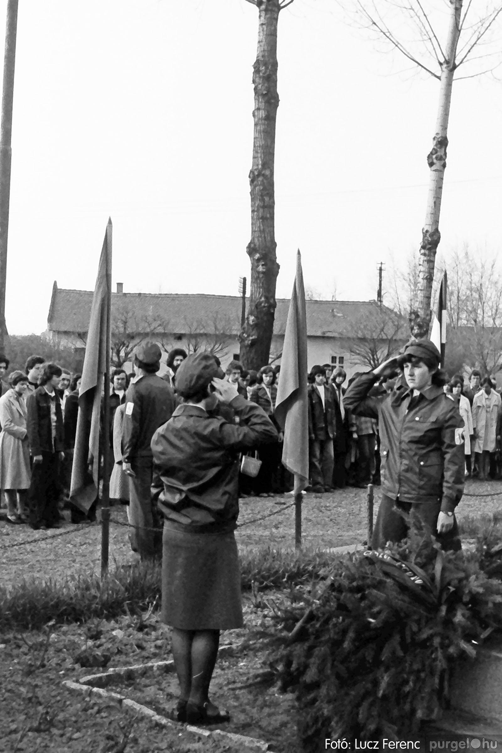 109. 1978. Április 4-i ünnepségek 013. - Fotó: Lucz Ferenc.jpg
