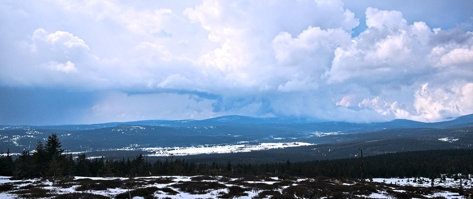 Góry Izerskie Hala Izerska