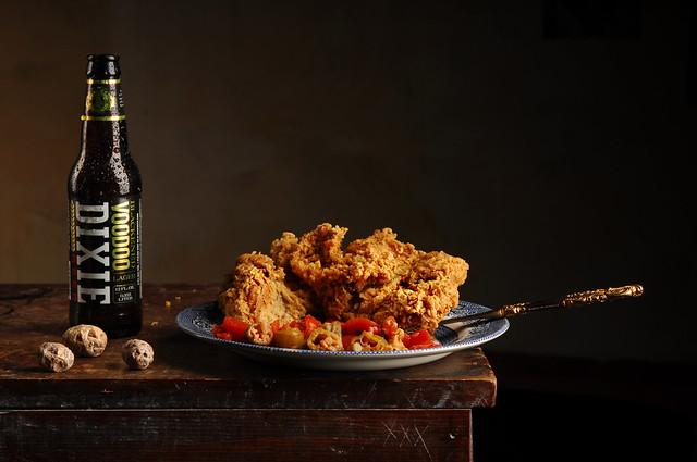 Sunday Chicken with Okra