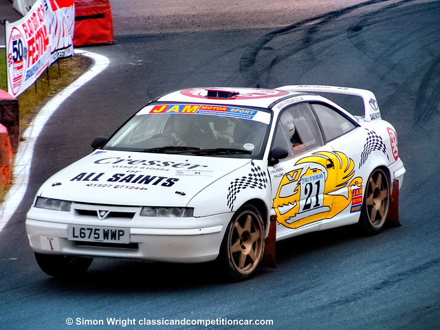Vauxhall Calibra V6 RWD Phil Long:Cyril Morris 28th 2005 Rally of the midlands 5th