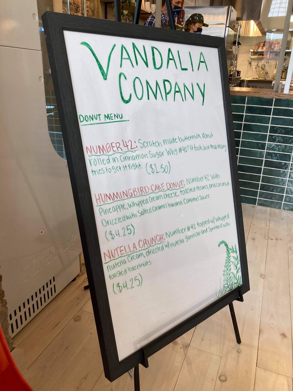 Vandalia Donut