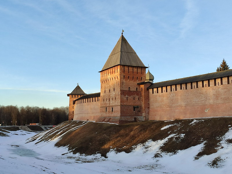 Великий Новгород - Новгородский кремль (Детинец)