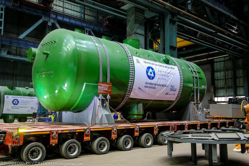 Как Атоммаш отправлял ценный груз на АЭС «Руппур» IMG_4819