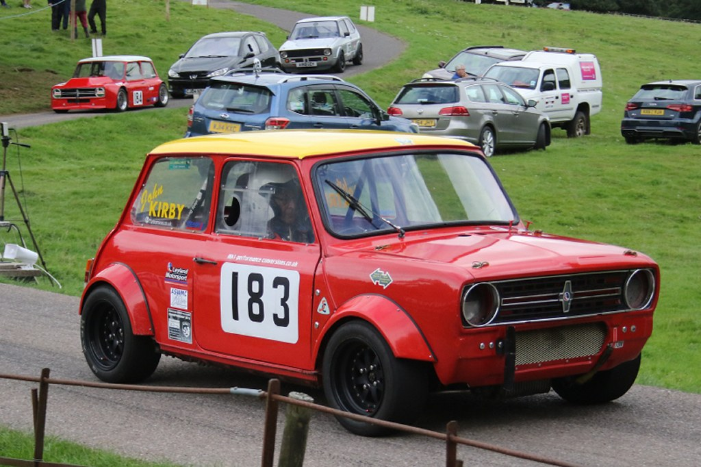 John Kirby's Mini Clubman DEWS at Wiscombe (N Cole)